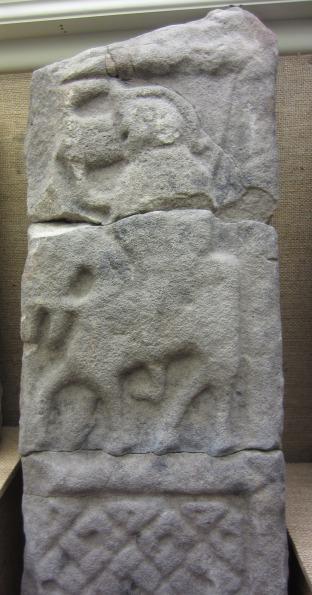 Horseman stone from St Blane's