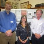 Glyn Collis, Alison Sheridan and Donald Kinnear.