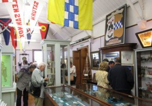 Delegates from the Congress of Genealogical and Heraldic Sciences visit the museum