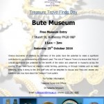 Treasure Trove Finds Day at the Museum – Saturday Oct 29th